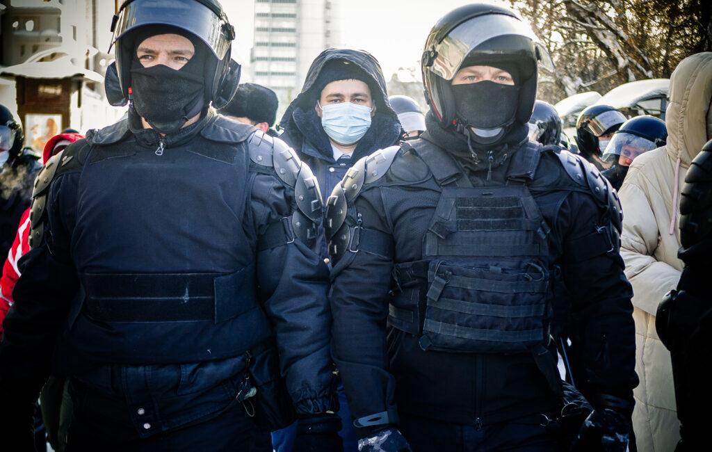 Митинг в Первомайском сквере